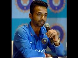 Team India Test Vice Captain Ajinkya Rahane Workout At Gym
