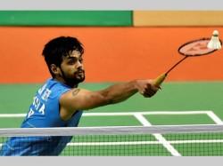 Singapore Open Badminton India S Sai Praneeth Enters Final