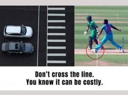 Jasprit Bumrah S No Ball Jaipur Traffic Police Uses Game Changing Incident