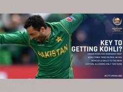 Icc Champions Trophy 2017 Junaid Khan Dismissed Virat Kohli 3 Times In Odis