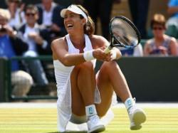 Wimbledon Johanna Konta Beats Simona Halep Thriller Reach Semi Finals