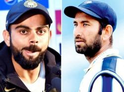 Cheteshwar Pujara Virat Kohli Unchanged Test Rankings