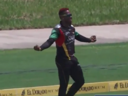 Watch Substitute Fabian Allen Takes Catch The Year Caribbean