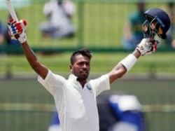 India Vs Sri Lanka 3rd Test Day 2 Pallekele Hardik Pandy Gets