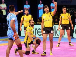 Pro Kabaddi 2017 Horrific Home Run Continues Telugu Titans