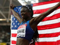 World Championships 2017 Tori Bowie Claims 100m Gold Thrilling