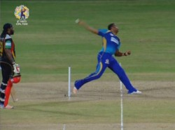Cpl 2017 Pollard Bowls No Ball Stop Lewis From Making Hunded