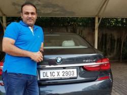 Sachin Tendulkar Gifts Virender Sehwag Bmw 7 Series Worth Over