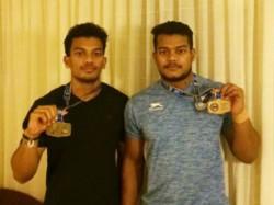 S Sathish Kumar R V Rahul Win Gold At Commonwealth Weightlifting