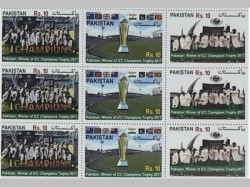 Pakistan Issues Special Stamps As Tribute Champions Trophy Win