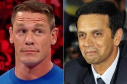 John Cena Just Posted Rahul Dravid Quote On His Instagram Indian Cricket Fans Lost Their Shit
