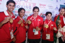 Haryana Women Boxers Return Government Gifted Cows Report