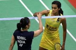Pv Sindhu Vs Saina Nehwal Indonesia Masters Badminton Highlights Saina Wins