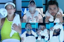 Australian Open 2018 Melbourne S Extreme Heat Bites As Mercury Topped 40 Degrees