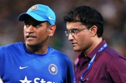 It Was Hard Down Ms Dhoni S Offer 2nd Time Sourav Ganguly Opens Up
