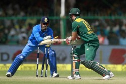 Ms Dhoni Fast Stumping India Vs South Africa 5th Odi