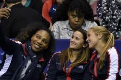 Serena Makes Fed Cup Return Top Seeds Belarus Eliminated