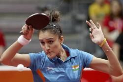 Cwg 2018 Manika Batra Leads India Historic Tt Gold