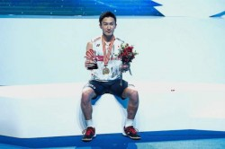 Momota S Abc Success Makes Him The Leading Singles Player