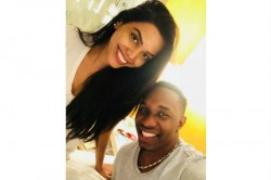 Ipl 2018 Csk S Dwayne Bravo Spotted With This Actress