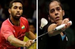 Badminton Asia Championships Saina Nehwal Hs Prannoy Claim Bronze After Batting