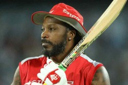 Ipl 2018 Chris Gayle Back From Vacation Gears Up Kings Xi Punjab Push For Play Offs