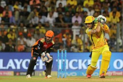 Ipl 2018 Qualifier 1 Csk Vs Srh Live Match Report From Wankhede Stadium Mumbai