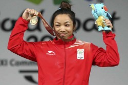 Mirabai Chanu Requests Sports Ministry Install Cctv Cameras Iwf Agrees