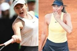 Italian Open Maria Sharapova Play Simon Halep Semi Finals