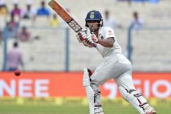 Injured Wriddhiman Saha Doubt India Vs Afghanistan Test