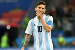 Lionel Messi Says He Does Not Want Retire From Argentina Until He Lifts Jules Rimet
