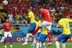 Fifa Wc 2018 Highlights Switzerland Hold Erratic Brazil A 1 1 Draw