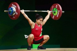 Doping Sanjita Chanu Commonwealth Games Gold Medal Winning Weightlifter Tests Positive