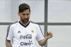 Lionel Messi Receive Fifa World Cup Replica As Birthday Gift