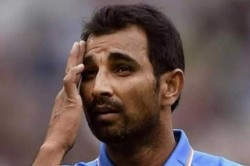 Mohammed Shami Couldn T Hold On Emotions After Seeing Daughter
