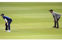 World Xi Vs West Indies T20 Nasser Hussain Finds New Commentary Spot In The Slips Cardon