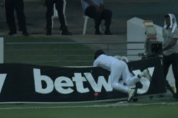 Sri Lanka S Kusal Perera Stretchered Off After Nasty Collision With Advertising Hoarding