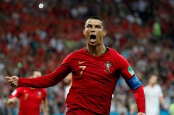 Fifa World Cup 2018 Highlights Ronaldo Hat Trick Helps Portugal Hold Spain