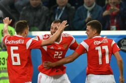 Fifa World Cup Russia 3 Egypt 1 Highlights Salah Strikes But Hosts Right On Course