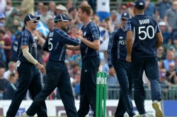 Stump From England Scotland Game Auctioned Charity
