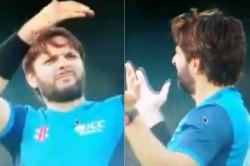Watch Shahid Afridi Mocks Rashid Khan After Latter Drops Catch