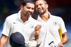 Shikhar Dhawan Murali Vijay Climb Charts Icc Test Batting Ranking