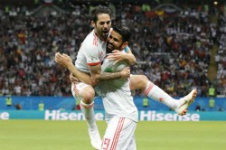 Fifa Wc 2018 Highlights Spain Battle Past Brave Iran