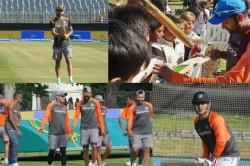 Team India S Practice Session Dublin