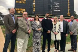 Zaheer Khan Felicitated At Adelaide Oval Posts Thank You Message