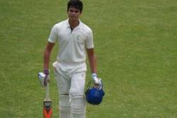 Arjun Tendulkar Dismissed Duck Maiden Innings India U 19 Team