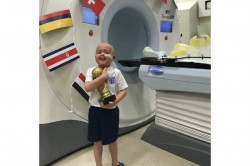 Ben Was Unable Walk Talk Before His Treatment But Week Ago He Asked For The World Cup