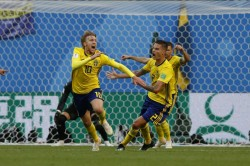 Fifa World Cup 2018 Sweden 1 Switzerland 0 Swedes Dream