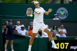 Wimbledon 2018 Roger Federer Cruises Into Last Eight Nadal In Qf For First Time Since