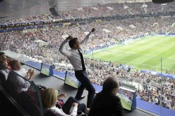 French President Macron Has Plenty Fun At World Cup Final